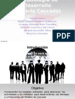 Metodología de Desarrollo (Modelo Cascada)