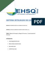 Sistema de Gestion de Calidad ISO 9001 2015