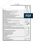 checklist module 3