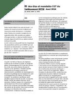 Bulletin Des Élus Et Mandatés CGT Du CE 25-08-16