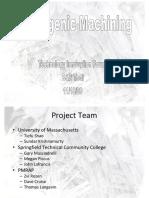 Cryogenic Machining Presentation