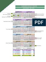 Calendario Escolar 16 17 Mojacar