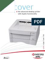 Brochure Kyocera FS-1020D