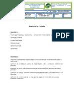 Avaliação de  Filosofia  2 ano II Bimestre.doc
