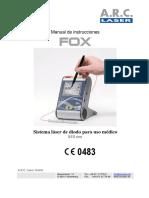 User-manual Fox Spanish SM FOXIII-5