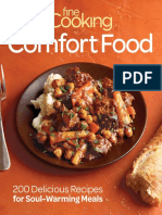 (eBook) Fine Cooking Comfort Food. 200 Delicious Recipes for Soul-Warming Meals