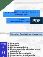 Tema 01 Dimensión Estrategica e Innovación