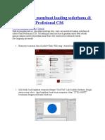 Tutorial Cara Membuat Loading Sederhana Di Adobe Flash Profesional CS6 Putar