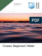 Croeso Beginners Welsh