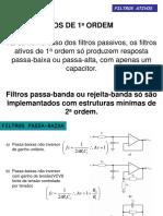 Filtros Ativos II