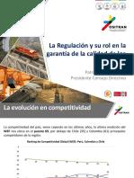 La Regulación y su rol en la garantía de la calidad de los servicios.pdf