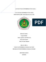 Landasan Dan Tujuan Pendidikan Pancasila