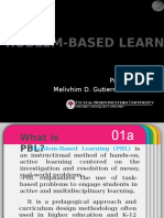 What is PBL?