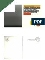 Libro La Evaluacion de Los Aprendizajes en El Debate Didáctico Contemporaneo