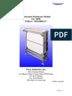 Membrane Mbr - Depliant 1