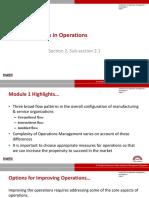 operations management-Week 2 Handout