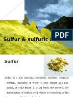 7_Sulfur & Sulfuric Acid Taught