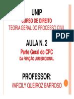 Aula 2 - Da Função Jurisdicional 2016.pdf