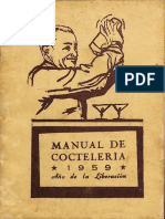 Manual de Cocteleria 1959