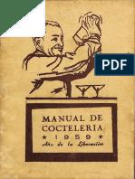 Manual de Cocteleria 1959