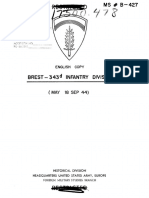 CMH1944 - Brest 343d Infantry Division - GERMAN