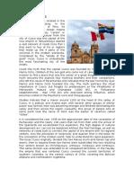 History of Cusco