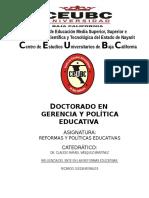 Monografía Reformas y Políticas Educativas