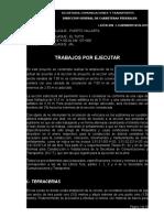 Trabajos Por Ejecutar N126-2013 ASFALTO