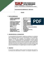 Uap-silabo Comercializacion de Minerales y Metales-ix Ciclo
