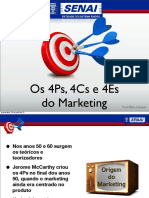 Os 4ps 4cs e 4es Do Marketing Prof Fabio Campos