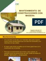 Mantenimiento Construcción Con Madera