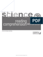 Reading Comprehension Worksheets. Key Science 3