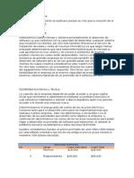 Ejemplo de analisis de factibilidad