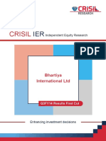 CRISIL Research Ier Report Bhartiya International 2013 Q3FY14fc