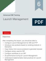 Launch ManagementDemantra
