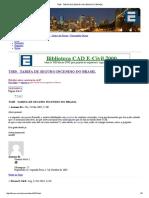 Tsib - Tarifa de Seguro Incendio Do Brasil
