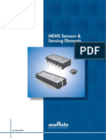 Murata Products MEMs Sensors s47e