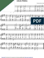 Musicas Natalinas Adeste Fideles