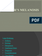 Smoker's Melanosis