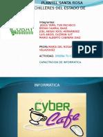 Exposición ''Diseña tu ciber cafe''