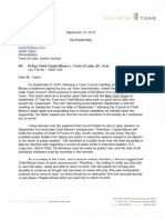 Attorney Letter About Crystal Moore Sept. 12 2016