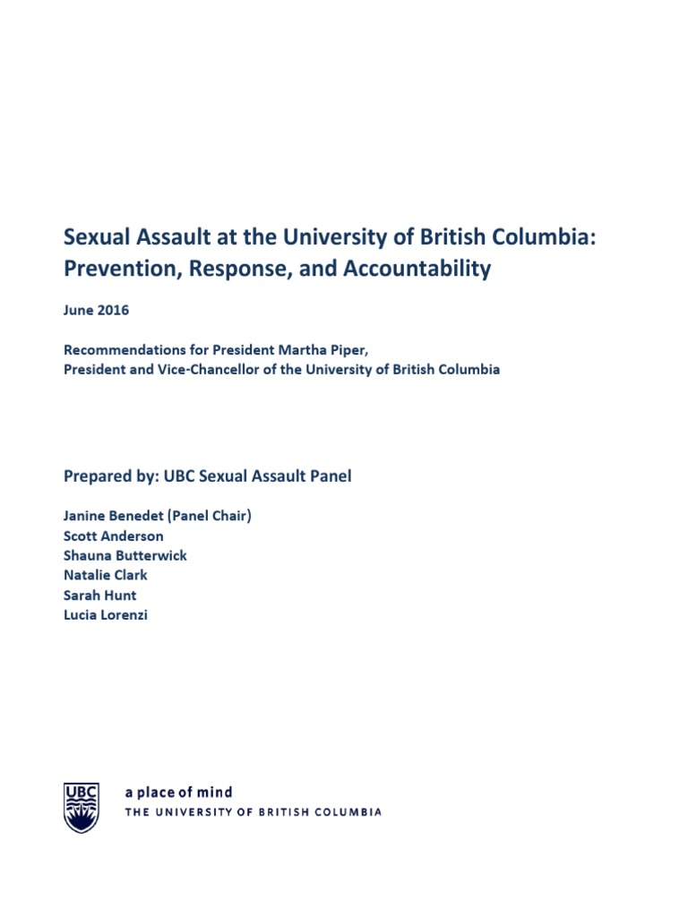British columbia sexual assault