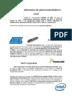 Empresa y Fabricantes de Microcontroladores