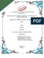 Tarea Grupal N° 01-Resumen MIMI - I Capitulo-Integrantes de Grupo