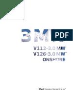 Turbine eoliene Vestas 3 MW