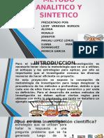 Metodo Analitico y SinteticO PRESENTACION
