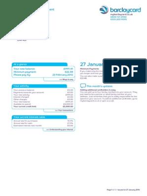 BARCLAYS BANK CREDIT CARD.pdf  Credit Card  Financial Transaction