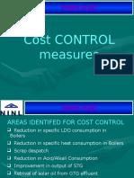 Cost Control Measure