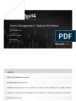 29BB05-Bowra-CDW Technologies-Event Management- Reduce the Noise