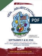 arts festival flyer 2016-17